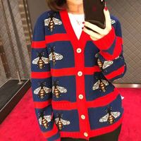WB0733 Fashion women's Sweaters 2018 Runway Luxury Brand European Design party style women's Clothing