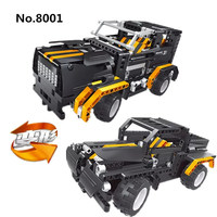 497pcs Building Blocks 2 in 1 Technic Remote Control RC Truck Car Black Hole Educational Model Toys For Children Kids Gift