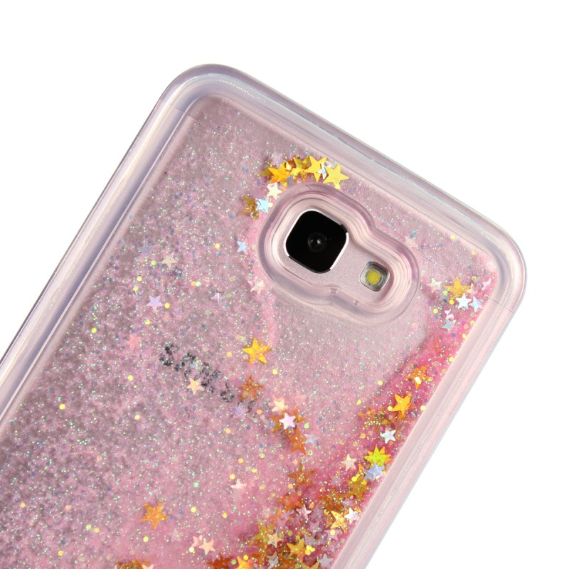 8237f0d1f5 US $3.24 35% OFF|Liquid Case For Samsung Galaxy J7 Prime J7Prime Luxury  Glitter Soft Silicone Back Cover TPU Gel Case Shining Mobile Phone Cases-in  ...