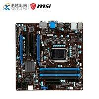 MSI B75MA G43 рабочего Материнская плата B75 разъем LGA 1155 i3 i5 i7 DDR3 32 г SATA3 Micro ATX