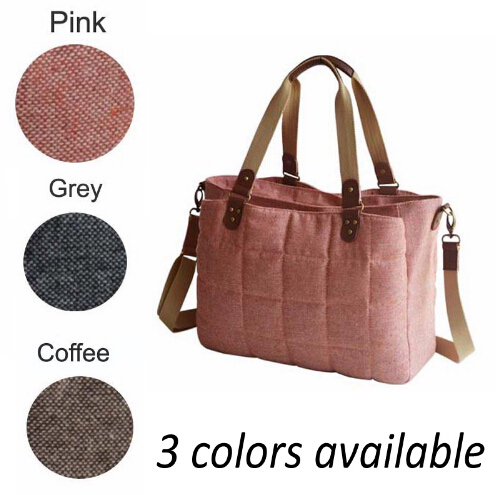 Tote Baby Diaper Bag For Stroller British Style Women Messenger Bags Woolen Baby Nursing Changing Bag Sac A Langer Bebe Couche