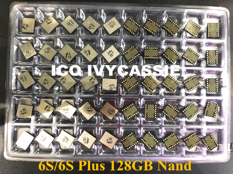 For iPhone 6S 6S Plus 128GB Nand Flash Memory IC U1500 HDD Harddisk Chip Expand Capacity