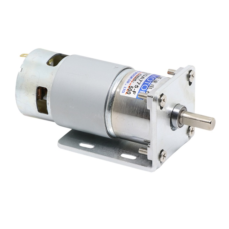 42GA775 DC geared motor 12V/24V High Power High torque motor Slow forward and reverse Speed control small motor dc motor 60w speed control high power dc12v24v torque motor motor with different rpm