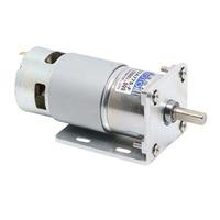 42GA775 DC geared motor 12V/24V High Power High torque motor Slow forward and reverse Speed control small motor