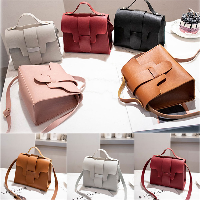 2019 Hot Fashion Women Shoulder Bag PU Leather Envelope Crossbody Messenger Handbag Purse