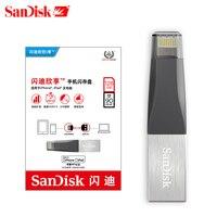 Sandisk Pen Drives USB3.0 OTG USB Flash Drive PenDrives for iPhone/iPad/iPod Memory Stick Dual Flash Drive 16GB 32GB 64GB 128GB