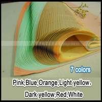Ücretsiz kargo 100 adet/grup 7 renkler el yapımı Çin pirinç kağıdı boyama ve oymacılık  64*135 cm xuan kağıt