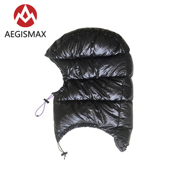 AEGISMAX Goose Down Hood Hat for Envelope Sleeping Bag