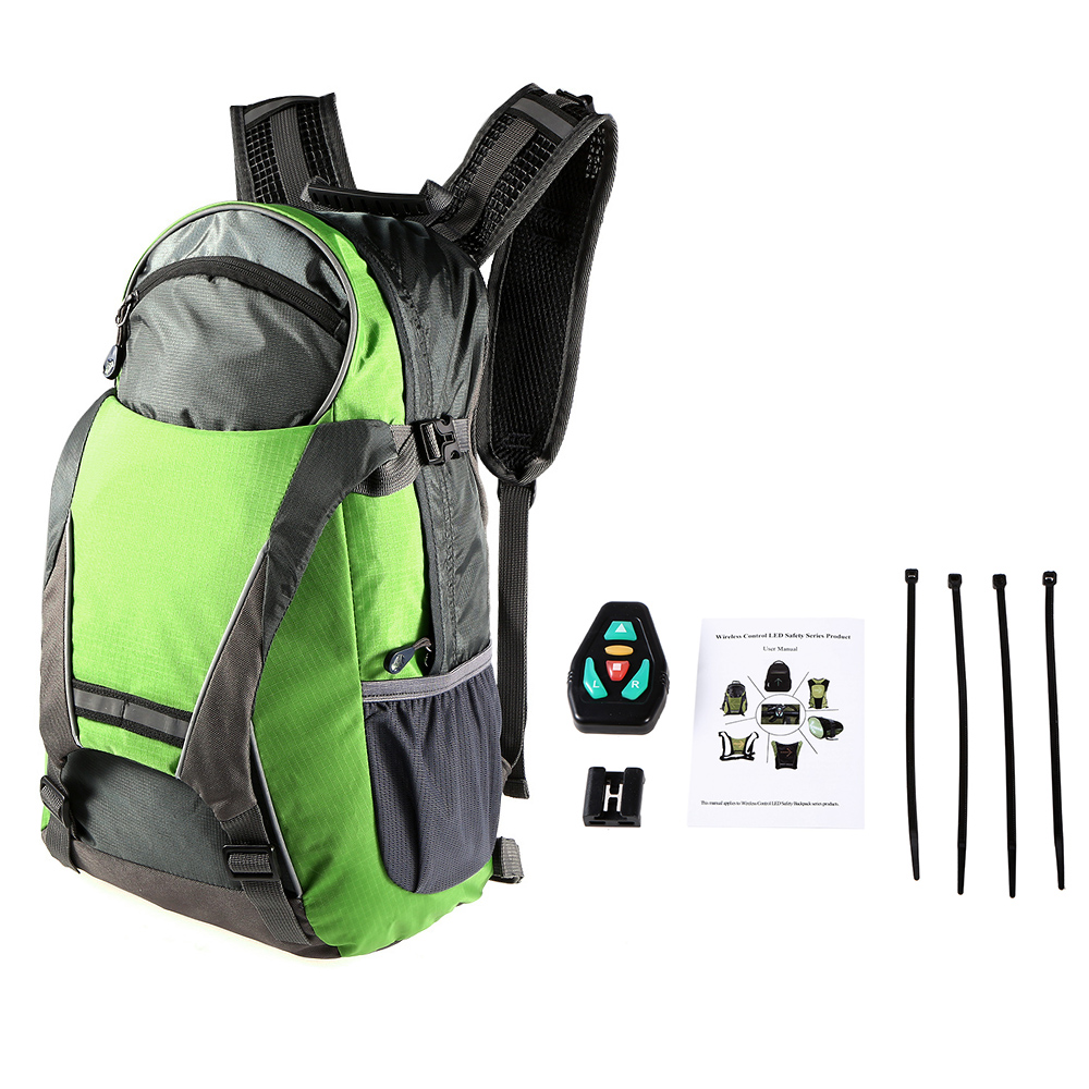 Back To Search Resultssports & Entertainment Lixada Bicycle Bag Usb Reflective Vest With Led Turn Signal Light Remote Control Sport Safety Bag Gear For Cycling Jogging Convenience Goods Cycling