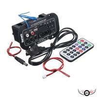 5 Inch 220V High Power Three With A Digital Card With Bluetooth Car Amplifier Cars Bluetooth