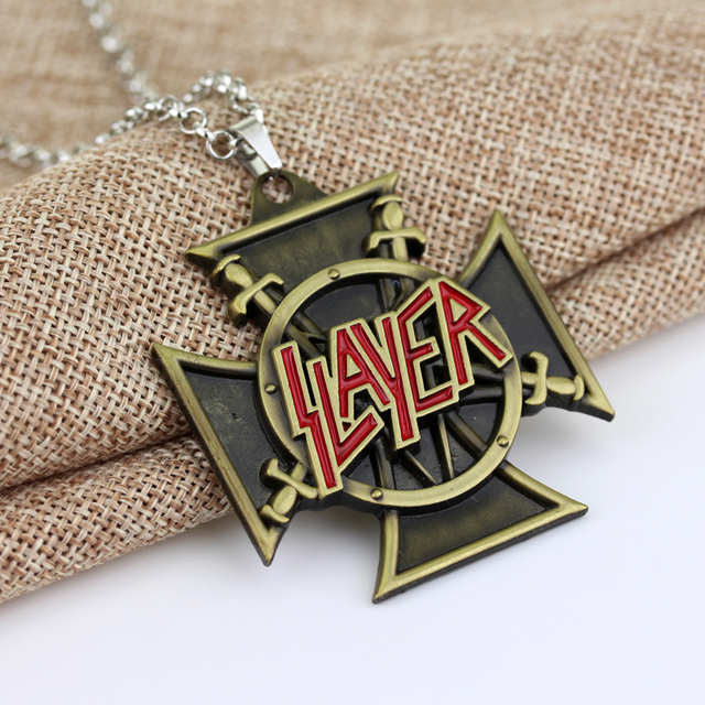 American Speed Metal Band SLAYER Necklace 2
