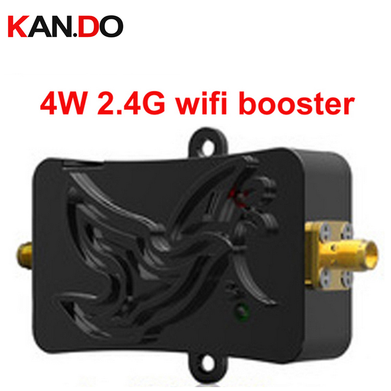 4W Wifi Wireless Amplifier Router 2 4Ghz Power Range Signal Booster wifi booster wifi repeater 2
