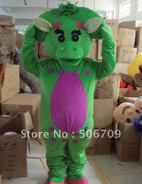 Baby Bop Triceratops Barney u0026Friends Halloween Mascot Costume Animal mascot costume : baby bop halloween costume  - Germanpascual.Com