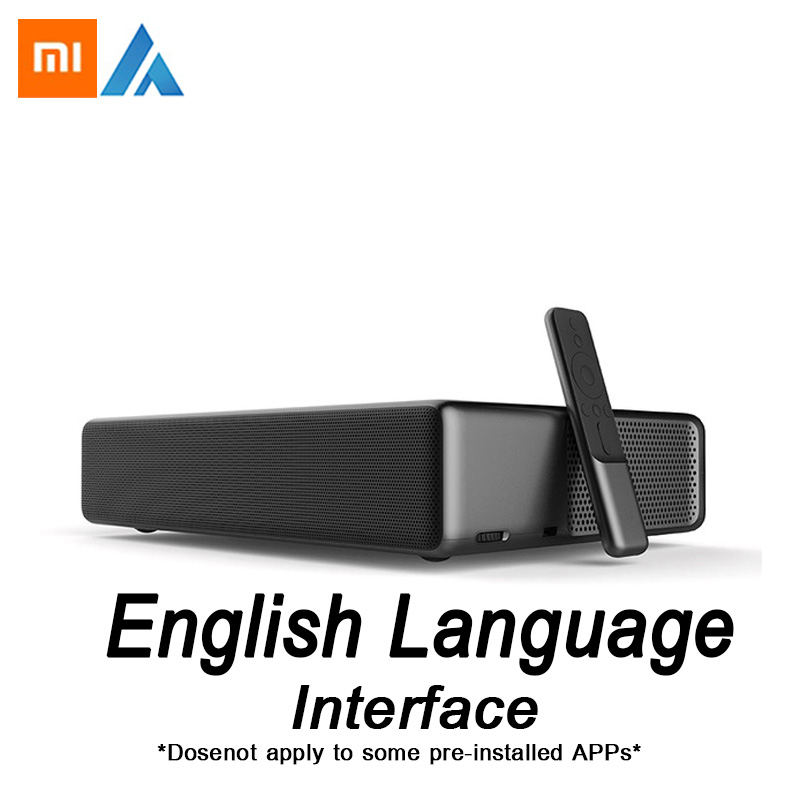 Xiaomi Fengmi Wemax di un Inglese Interfaccia Laser TV Proiettore 5500 lumen 150 Inche 1080 Full HD 4 k Supporto Bluetooth BT DOLBY DTS