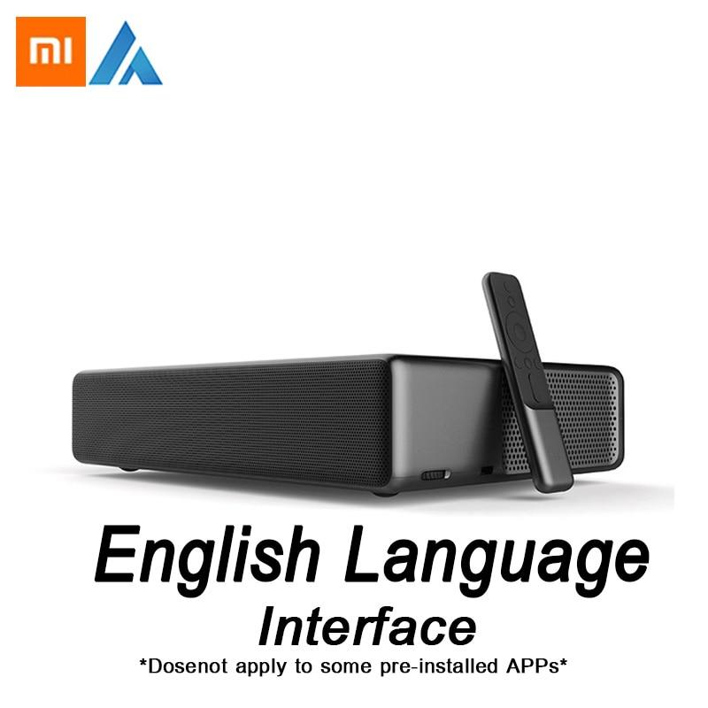 Xiaomi Fengmi Wemax di un Inglese Interfaccia Laser TV Proiettore 5500 lumen 150 Inche 1080 Full HD 4 k Supporto Bluetooth BT DOLBY DTS