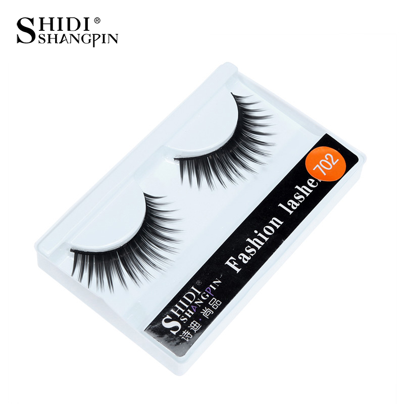 702 Makeup False Eyelash Halloween Eyelashes Tapered Eye Lashes