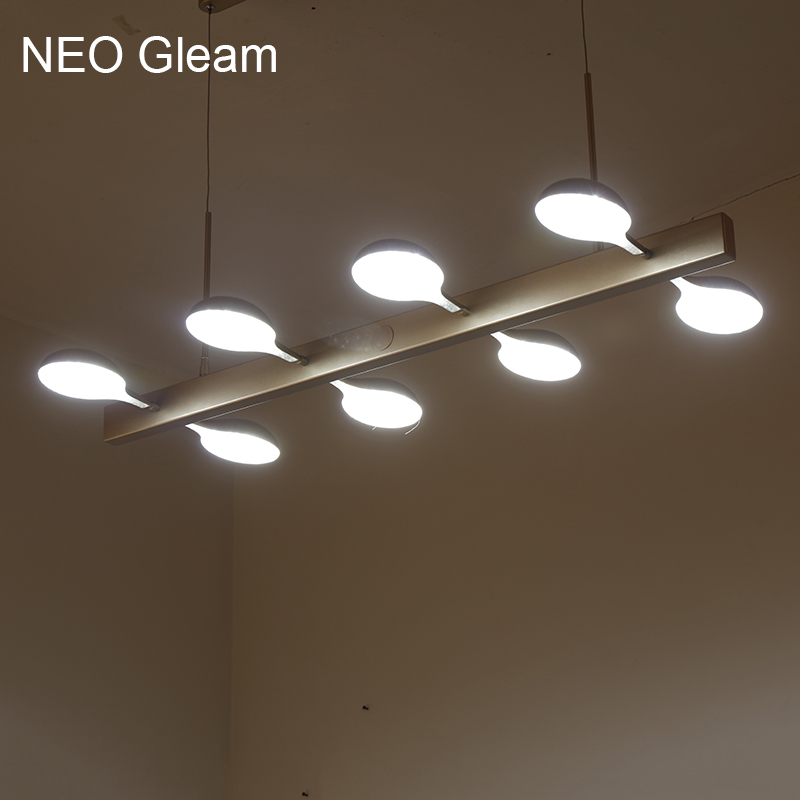 NEO Gleam New Ideal Creative Gold Modern Led Pendant Lights For Dining Living Room Bar Kitchen Hanging Pendant Lamp Fixtures bwart creative modern led hanging pendant lights for shop bar dining kitchen room ac85 265v hexagonal led pendant lamp
