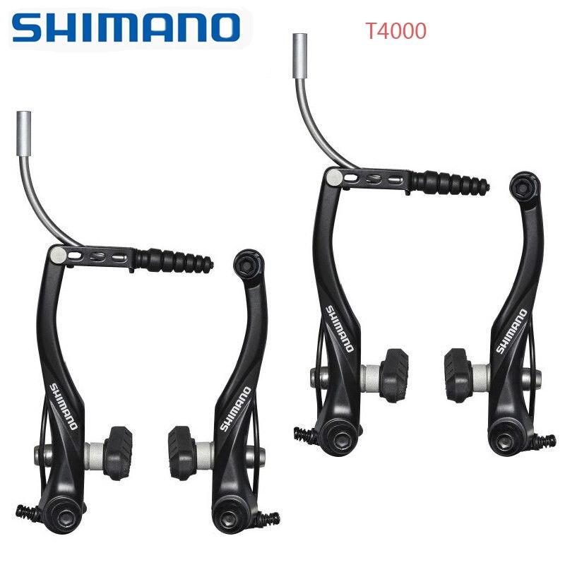 Shimano Alivio br-m4050 freno de disco set rueda delantera bicicleta a la izquierda Mountain Bike
