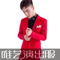 men red suits designs masculino homme terno stage costumes for singers men sequin blazer dance clothes jacket star style punk