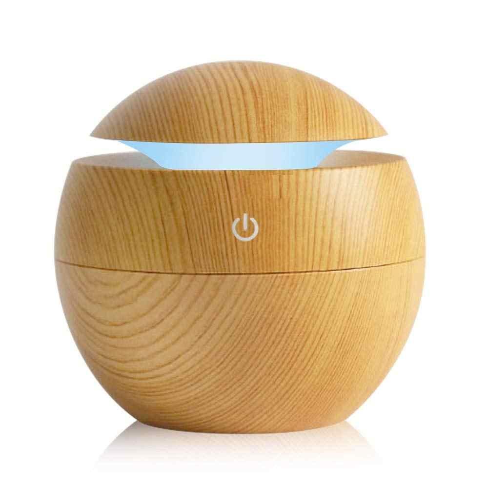USB Aroma YAYICI ultrasonik serin hava nemlendiricisi hava temizleyici 7 renk değişimi LED gece lambası ofis ev için