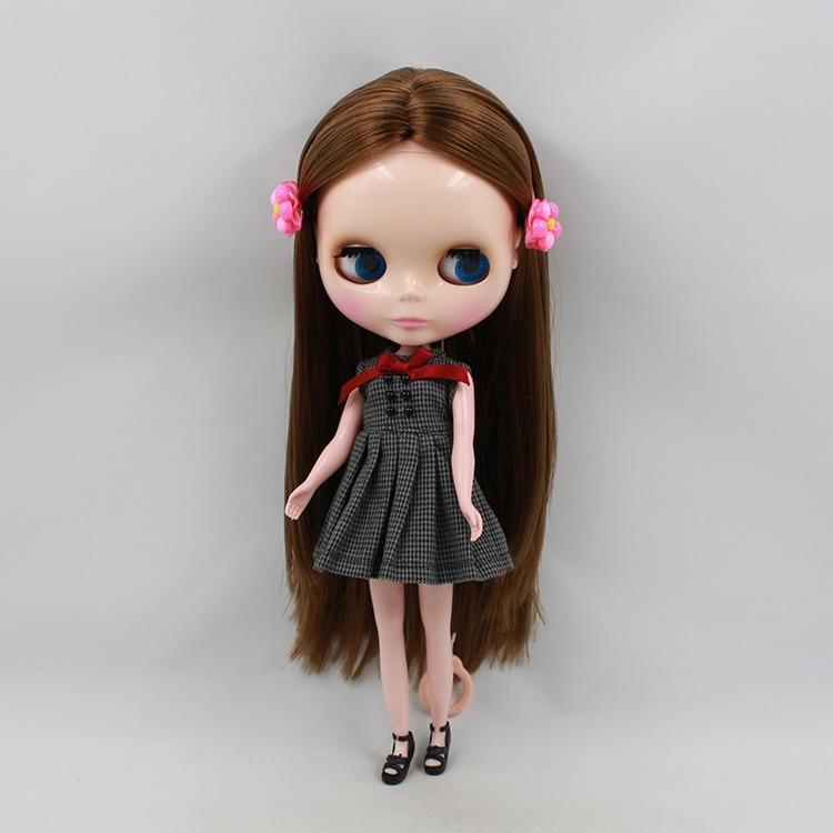 무료 배송 공장 blyth 인형 230bl0623 갈색 greasy 머리 일반 신체 선물 장난감-에서인형부터 완구 & 취미 의  그룹 1