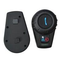 Newest FM Radio 500M BT Bluetooth Motorcycle Helmet Intercom BT Interphone Intercomunicador Motocicleta