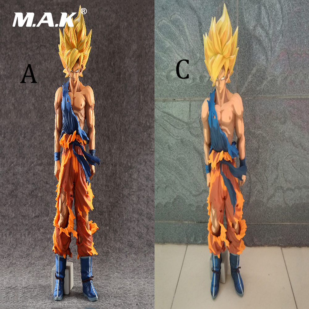 Toys for Boys 34CM Anime Action Figure Seven Dragon Ball Dragonball MSP GOKU Super Saiyan with Box kid Christmas Gift Collection 8pcs set anime how to train your dragon 2 action figure toys night fury toothless gronckle deadly nadder dragon toys for boys