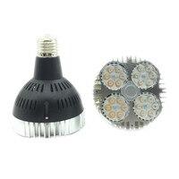 35 Вт Par30 лампы освещения AC110V 220 В E27 светодиодный лампы вентилятор внутри D95mm * 120 мм теплый белый /3000 К холодный белый/6000 К Par30 свет лампы