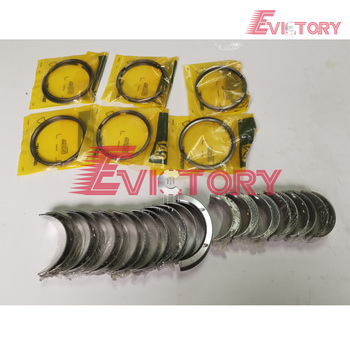 For Caterpillar D6M Engine 3116 3116T 3116DITA 3116 main crankshaft bearing + con rod bearing фото