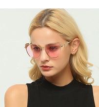Monique кошачий глаз Солнцезащитные очки для женщин Для женщин Металл крыла модные Защита от солнца очки Ретро цепи висит Солнцезащитные очки для женщин дамы Солнцезащитные очки для женщин Óculos