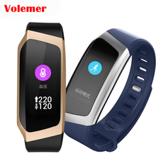 Volemer E18 Smart Band Color Touch Screen Blood Pressure Oxygen Fitness Tracker smart Wristband Heart Rate Monitor Bracelet