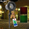 ALIEN Remote RG Star Dots Motion Christmas Laser Light Projector Outdoor Waterproof Garden Outdoor Xmas Tree