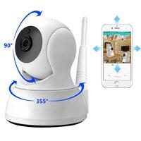 Ip-камера Домашняя безопасность двухстороннее аудио HD 720 P Беспроводная мини-камера 1MP ночного видения Wi-Fi камера видеонаблюдения монитор мла...