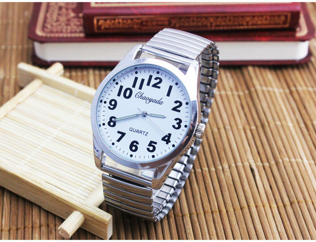 High Quality Fashion watch Original Elastic Full Steel Bracelet Quartz Watches M