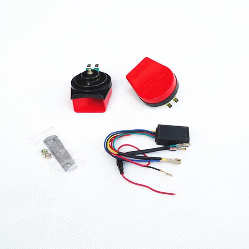 Pengiriman Seger Gratis 12 V 115dB kualitas tinggi musik listrik - Suku cadang mobil - Foto 3