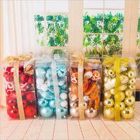 High Quality Big Box Colorful DIY Holidys Christmas Tree Decor Ball Bauble Hanging Xmas Party Ornament Decorations for Home