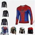High Quality NEW 2016 Marvel Captain America 2 costume Super Hero jersey new T shirt Men USA cosplay clothing long sleeves 4XL