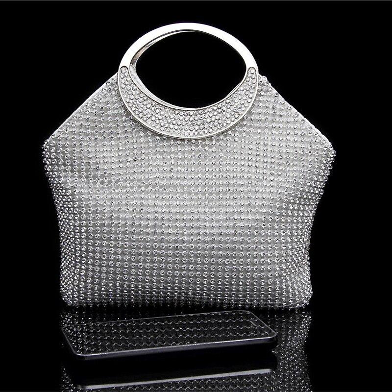 Envío Gratis 2017 NUEVO Diseño de Moda Bolso de Las Mujeres Bolsos de Noche Bolsos de Embrague Ocasionales Para El Banquete de Boda Cena Bolsas WNS017