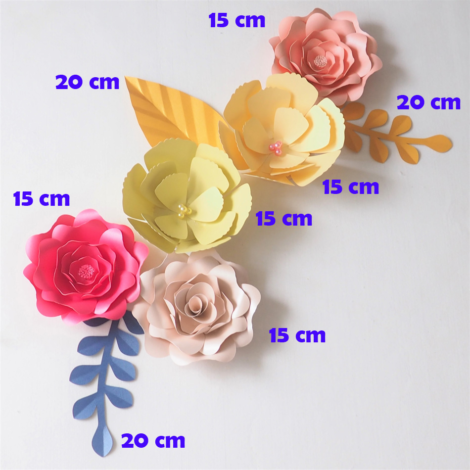 Results of top giant paper flowers wall in hairstyle2018