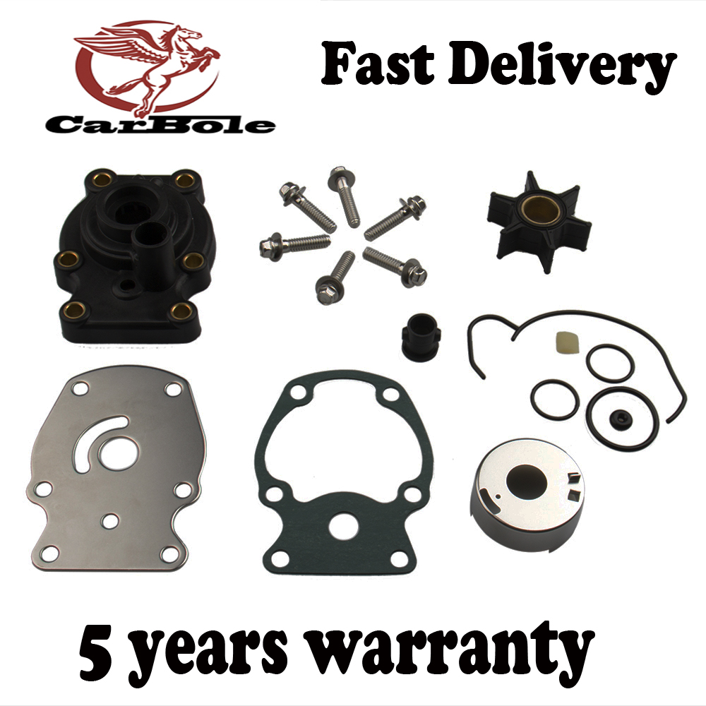 CARBOLE For Evinrude/Johnson/OMC New OEM Water Pump & Impeller Repair Kit  393630, 0393630