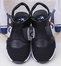 2018 Frühling und Sommer Mode Mädchen Sandalen atmungsaktiv einzelne Schuhe Netzwerk Sterne Stil Jungen Schuhe Mädchen Schuhe