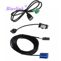 Car Radio Micphone Mic Bluetooth Cable Adapter USB Cable For BMW E90 X1 With BMW Professional
