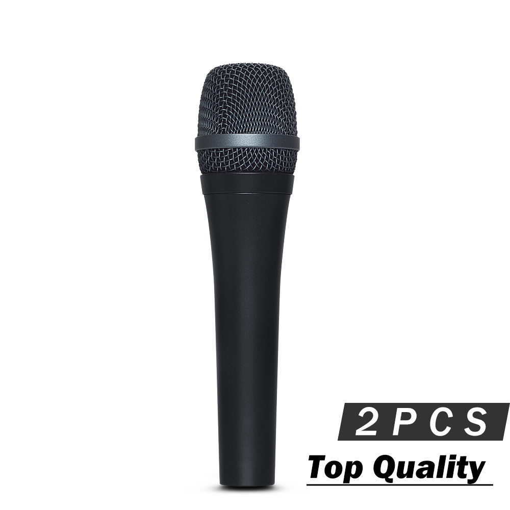 2PCS Best Quality Super Cardioid Vocal Microphone e945 Professional Karaoke Dynamic Handheld E 945 Wired Microfono