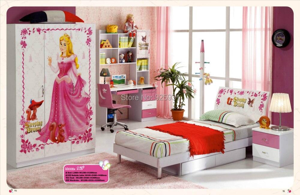 Model 963 Child Bed Room Furniture /Children Room Furniture Girls Bed,girls  Bedroom Set