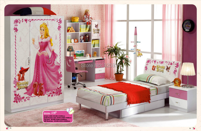 Model 963 Child Bed Room Furniture Children Room Furniture Girls