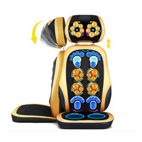 Cervical Massage Cushion Massage Chest Waist Shoulder Massage Cushion Massage Chair Cushion Deluxe Edition
