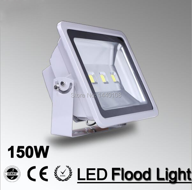 (10pcs/lot) AC 85-265V 150W LED Floodlight Outdoor 150W LED Flood light lamp waterproof Landscape light spot LED projector