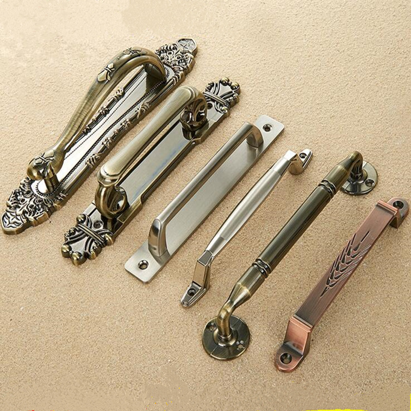 High Quality Antique Bronze Furniture Handle Cupboard Cabinet Drawer Wardrobe Door Handle  Furniture Hardware.