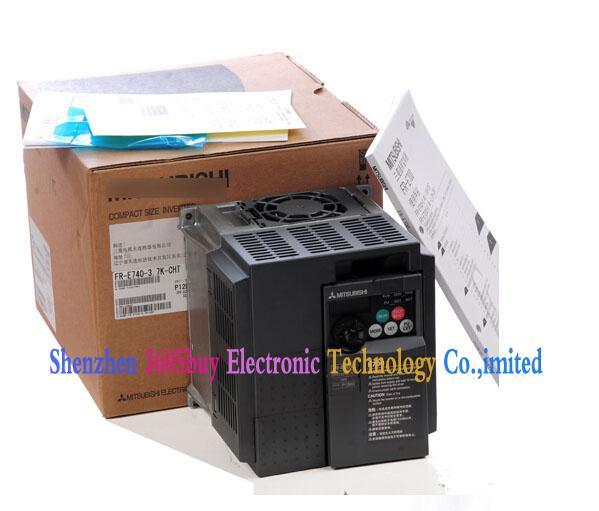 New Original Inverter 0.2~400Hz 380V Output 3 ph FR-E740-7.5K-CHT 80V 7.5KW 17A