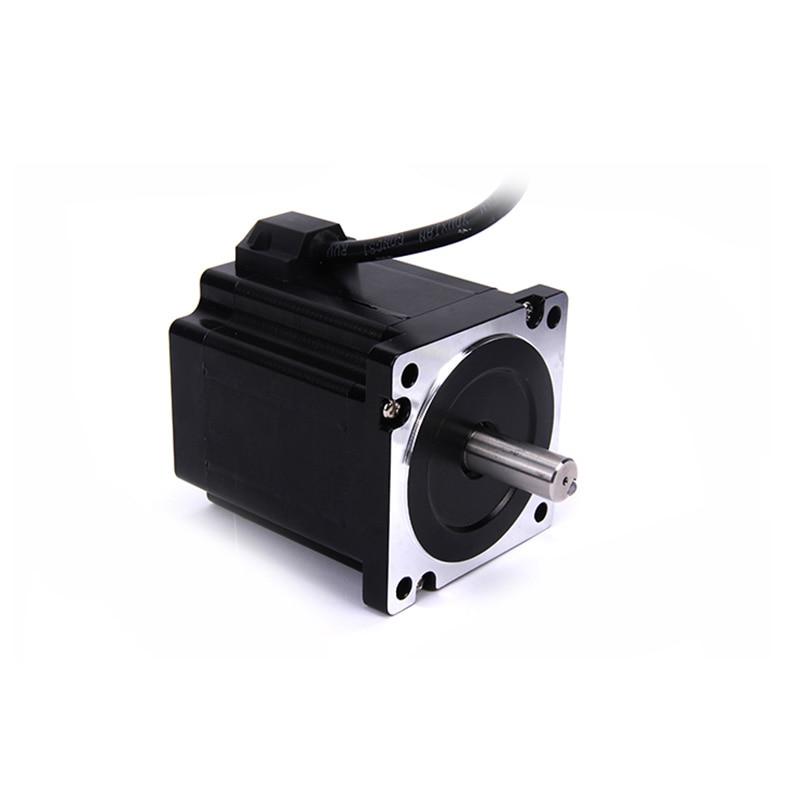 все цены на High torque 86 Stepper Motor 2 PHASE 4-lead Nema34 motor 86BYGH2401 96MM 6.0A 6.08N.M LOW NOISE motor for CNC XYZ онлайн